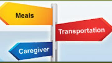 Meals, Transportation, Caregiver