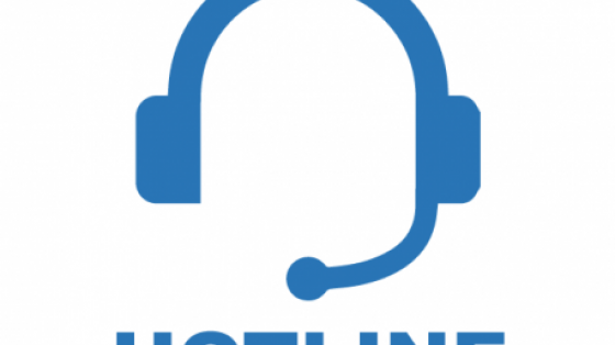 Hotline headset with microphone